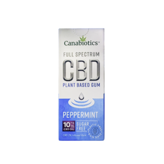 Peppermint CBD Chewing Gum (10pcs) – 10mg / piece