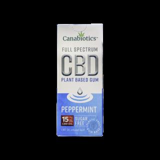 Peppermint CBD Chewing Gum (10pcs) – 15mg / piece