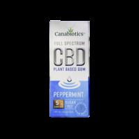 Canabiotics Full Spectrum CBD Gum - 5mg Peppermint CBD Oil