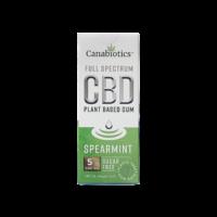 Spearmint CBD Chewing Gum (10pcs) – 5mg / piece