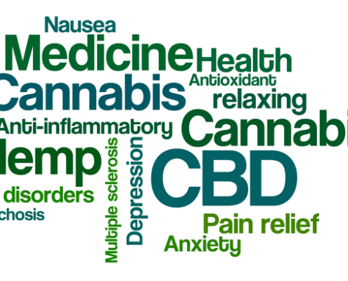 CBD pain relief banner